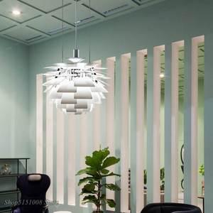 Image 2 - Lámpara Led moderna con forma de pipecón para sala de estar, cocina, Loft, luminaria de decoración Industrial para el hogar