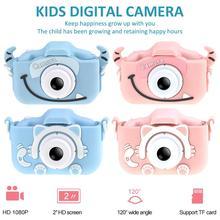 Мини мультяшная детская камера, креативная детская камера, HD цифровая камера, портативная камера 1080P для детей, подарок на день рождения, Рождество