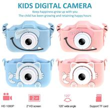 Mini Cartoon Kids Camera Creative Children's Camera HD Digit
