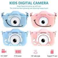 Mini Cartoon Kinder Kamera Kreative kinder Kamera HD Digital Kamera Tragbare 1080P Kamera Für Kinder Geburtstag Weihnachten Geschenk