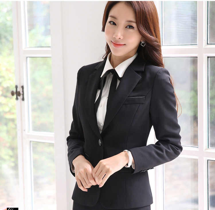 Blazer Feminino Plus Size 5XL Korte Slanke Jas Vrouwen Office Lange Mouwen Single Button Solid Vrouwelijke Jas LX93