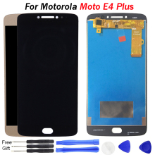 Screen for Motorola for Moto E4 Plus LCD Display with Touch Screen Digitizer Assembly for Moto E4 Plus Display Parts black for motorola moto x style x3 xt1575 xt1572 xt1570 lcd display screen with touch digitizer frame assembly free shipping