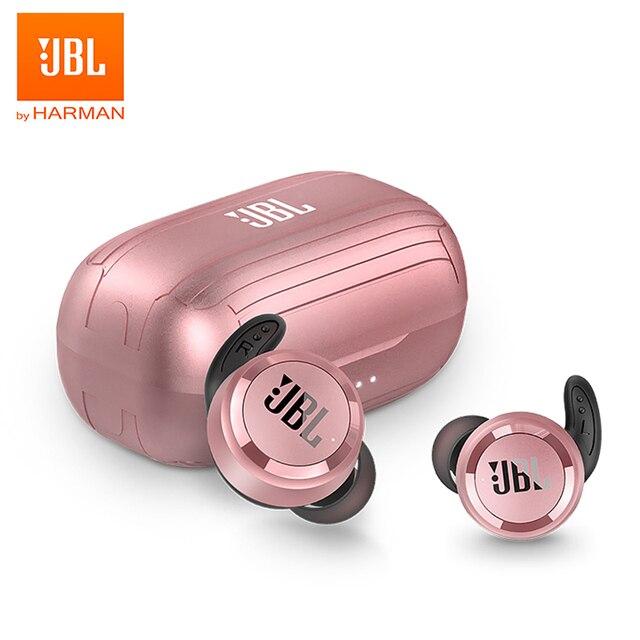 JBL T280 TWS Wireless Bluetooth Earphone Sports Earbuds T280TWS Deep Bass Headphones Waterproof Headset with Mic Charging Case Electronics Wireless Earphones