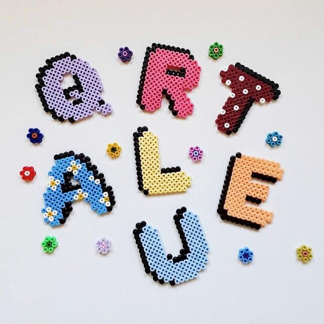 JINLETONG Hama Beads 5mm 1000pcs perler Iron Beads for Kids Hama Beads Diy 3d puzzles  High Quality Handmade Gift Toy 2
