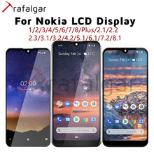 For Nokia 1 2 3 5 6 7 Plus 8 1.3 2.1 2.2 2.3 3.1 3.2 4.2 5.1 5.3 6.1 6.2 7.1 7.2 8.1 8.3 LCD Display Touch Screen For Nokia LCD