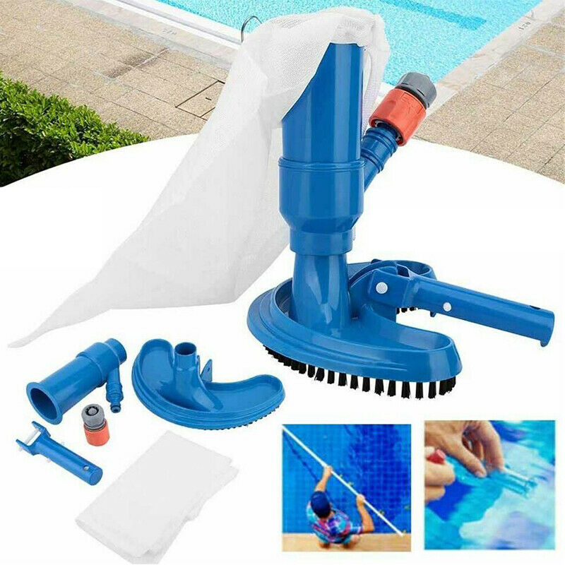 Mini New Jet Swimming Pool Vacuum Cleaner Floating Objects Cleaning Tools Suction Head Pond Fountain Vacuum Brush Cleaner Tools