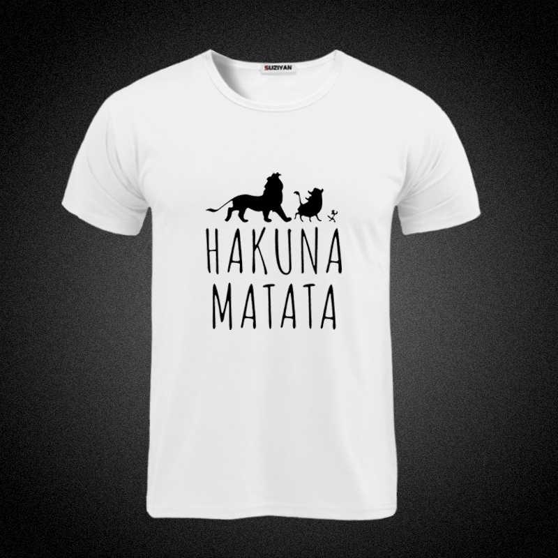 2018 Grappige Tee Leuke T Shirts Homme Pumba Mannen Korte Mouwen Katoenen Tops Cool T-shirt Zomer Jersey Kostuum Mode heren T-shirt
