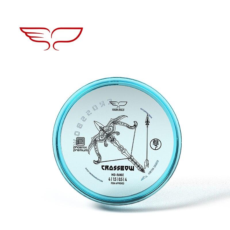 PDGA Approval Professional Yikun Disc Golf Mid-range Phoenix Premium Line Crossbow 11.11