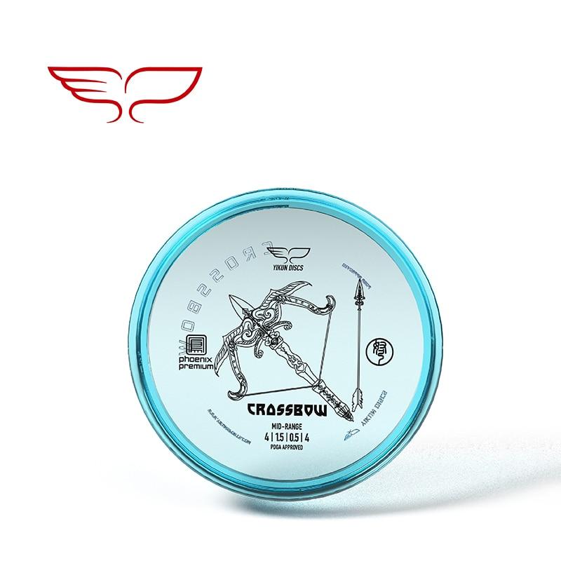 YIKUN DISCS PDGA Approved Disc Golf Disc Phoenix Premium-Line Mid-Range Crossbow  Black Friday