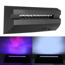 Stand-Base Led-Lamp Crystal-Display Usb-Cable White-Light Us/eu-Plug 3D CLAITE with 10-Led