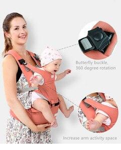 Image 4 - Aiebao portador de bebê infantil criança hipseat estilingue ergonômico frente frente frente frente canguru envoltório do bebê portador para o bebê viagem 0 36 meses