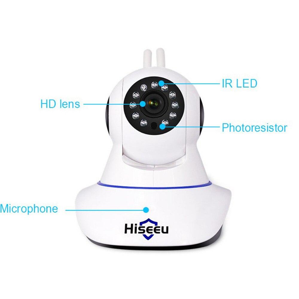 Hiseeu 1080P Vision nocturne caméra CCTV Camaras De Seguridad HD caméra bébé moniteur Mini Wifi Endoscope panoramique inclinaison IP caméra Wifi 41
