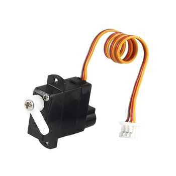 цена на 1.9g Plastic Servo for Wltoys XK A600 K100 K110 K123 K124 V977 V966 RC Helicopter Airplane Drone RC Model Toys Hobby Parts Accs