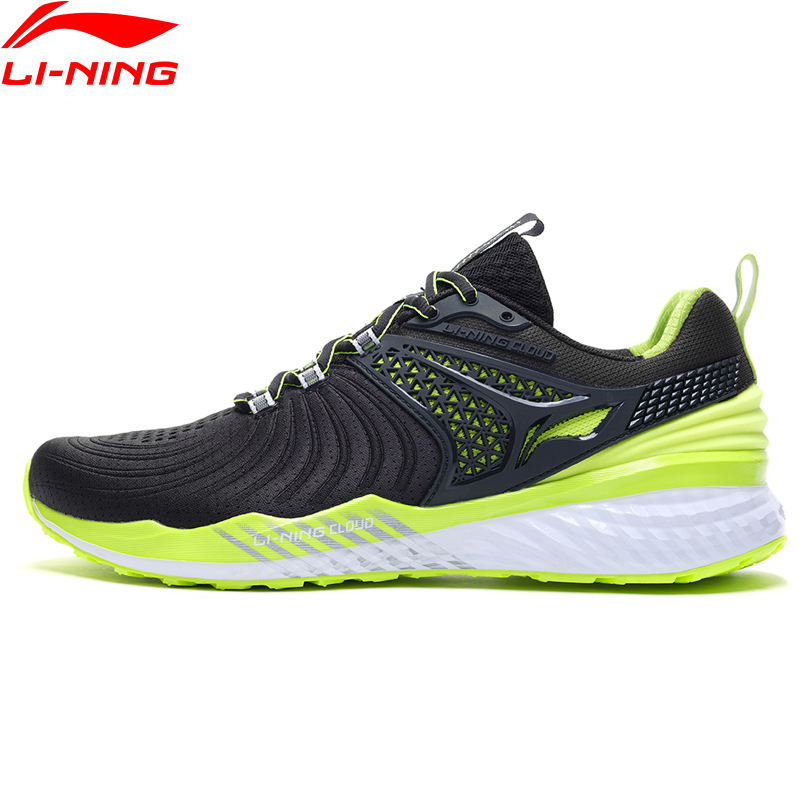Li-Ning Men LN CLOUD 2019 V2 Cushion Running Shoes Light Stable Support LiNing Li Ning Bounce Sport Sneakers ARHP013 XYP870