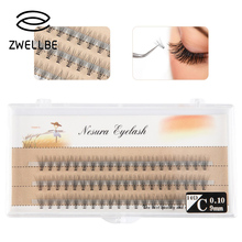 Fashion Style Mink Hair False Eyelashes Natural/Thick Long Eye Lashes Wispy Makeup Beauty Extension Handmade To Lengthen