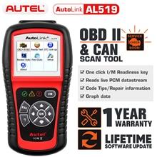 Autel AL519 OBD2 Auto Scanner Diagnostic Tool Obd 2 Auto Diagnostische Scanner Eobd Automotivo Automotriz Automotive Auto Scan Tool