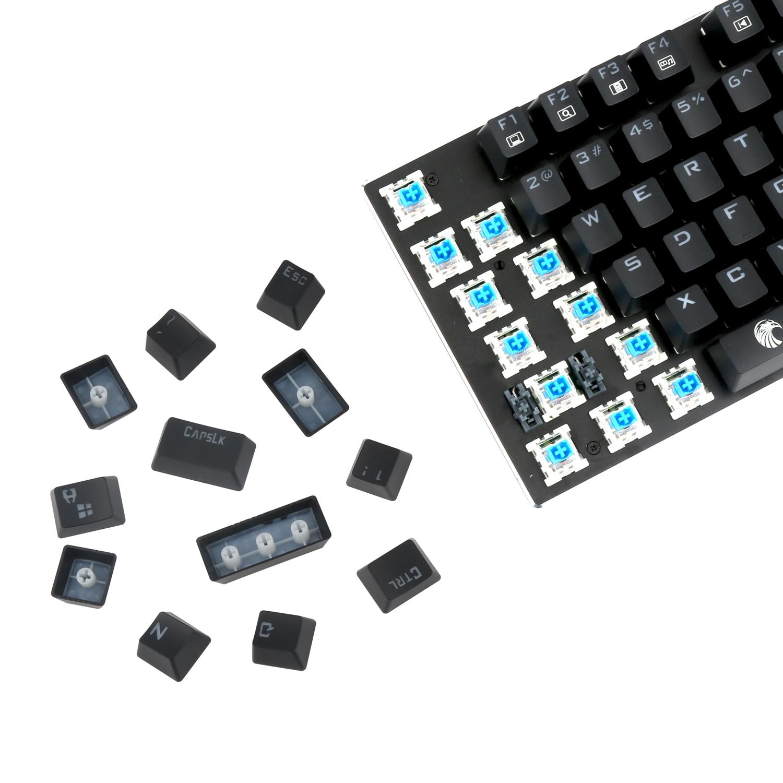 Teclado mecânico do jogo e-element z88 com
