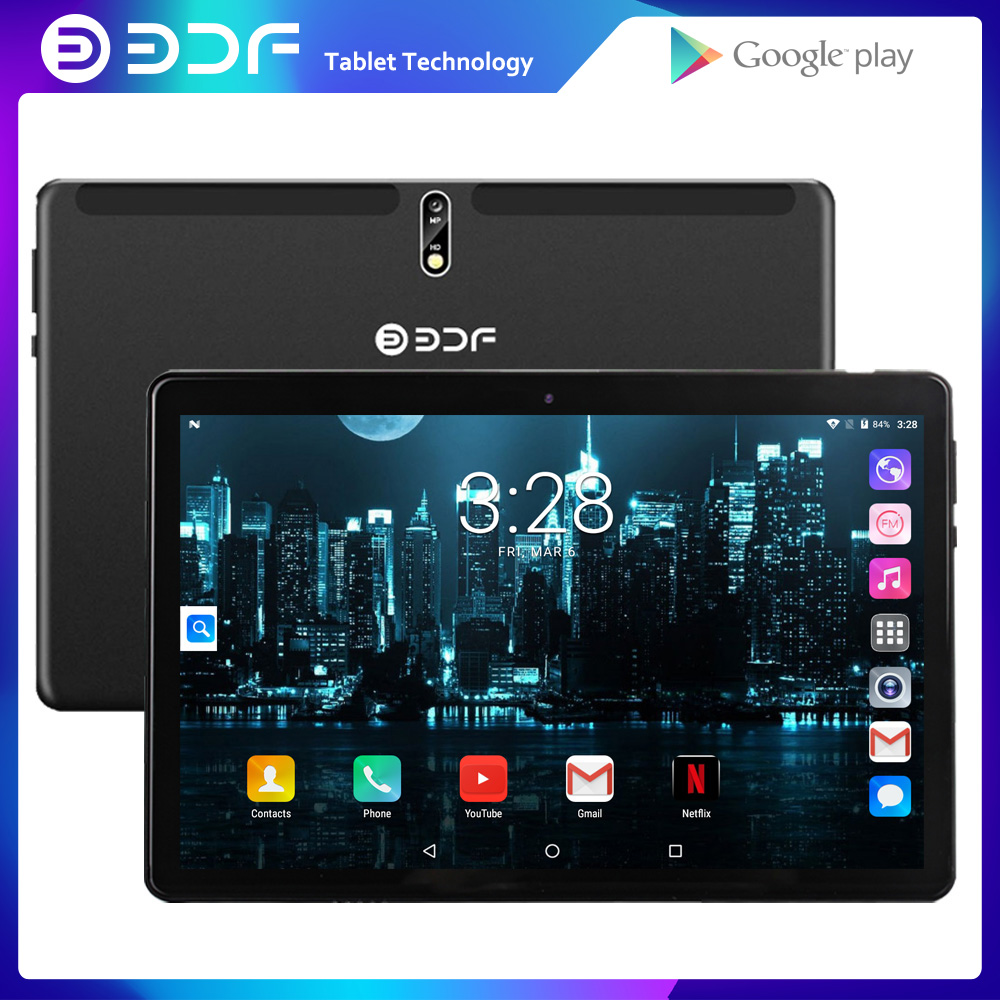 New Original 10 Inch 3G Phone Call Dual SIM Card GPS Tablet PC Android 7.0 Tab WiFi IPS Kids Google Market Phablets OTG