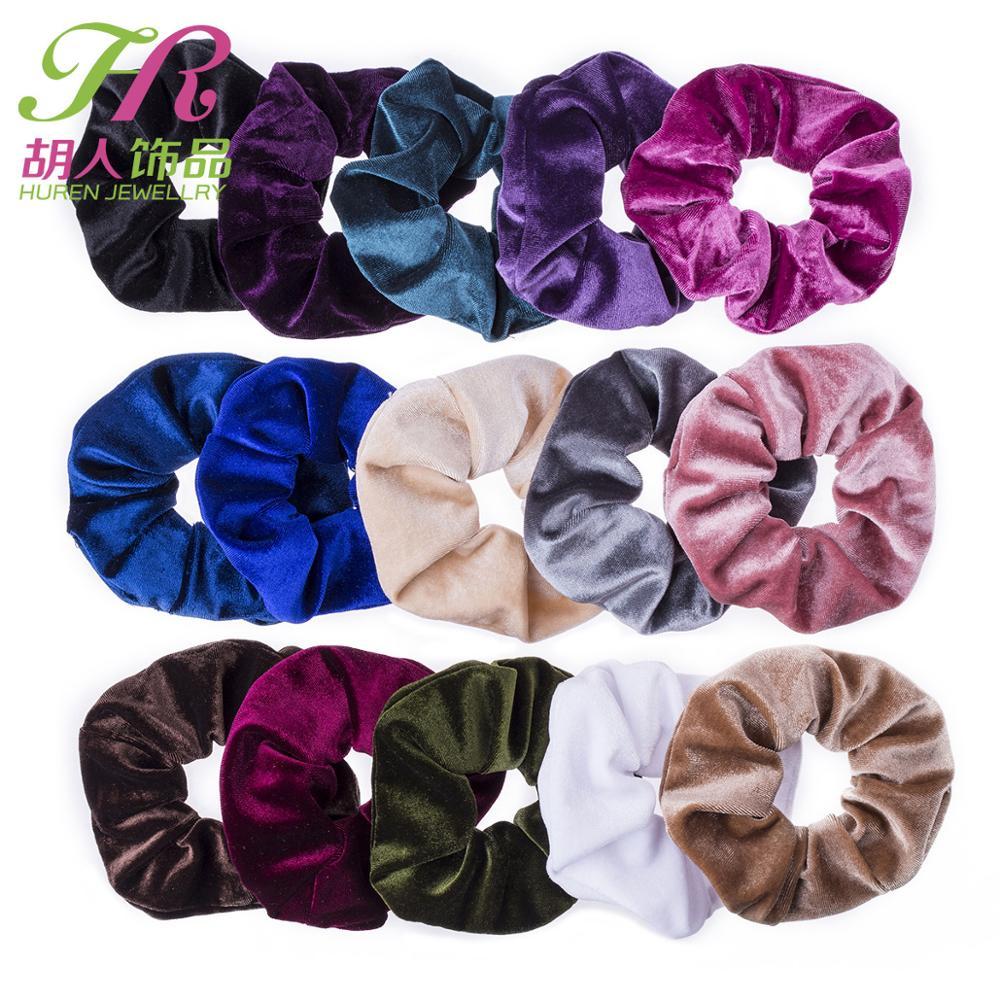 Velvet Scrunchie Women Girls Elastic Hair Rubber Bands Accessories Tie Hair Ring Rope Ponytail Holder