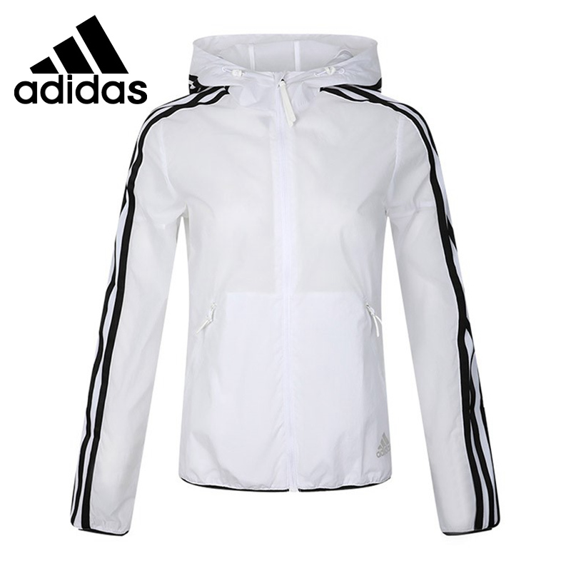 mecanismo horizonte Parpadeo  Original New Arrival Adidas WINDBREAKER 3S Women's jacket Hooded  Sportswear Running Jackets  - AliExpress