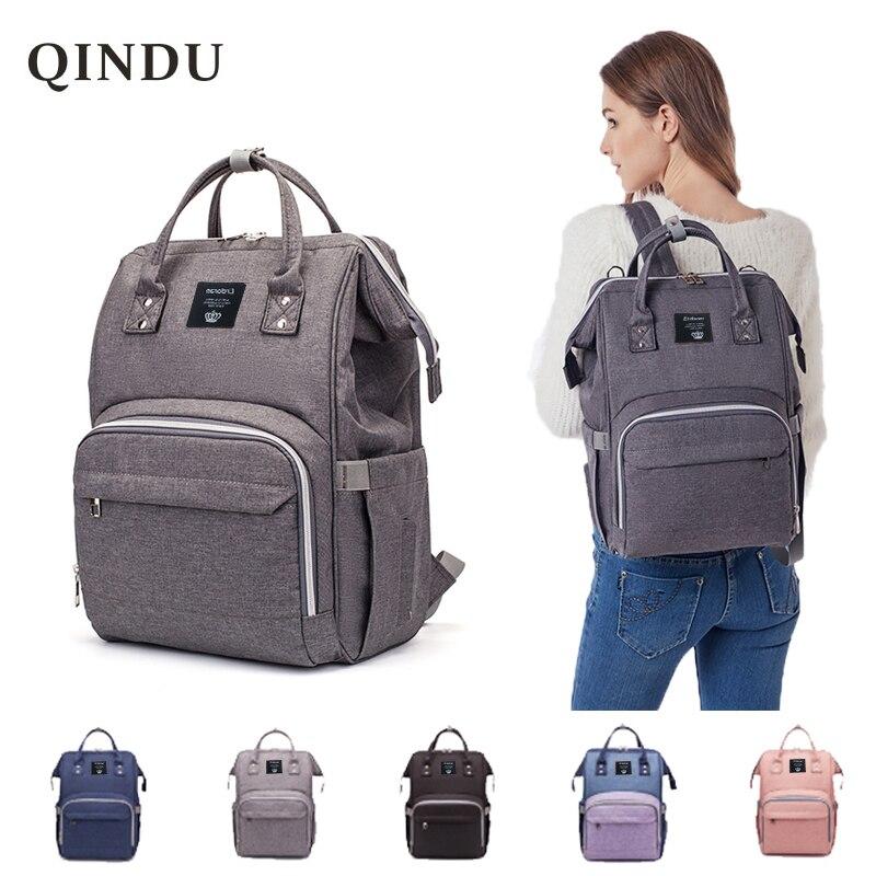 Multifunction Baby Bag Widened Shoulder Strap Large Capacity Maternity Bags Waterproof Travel Women Fashion Diaper Bag Backpack