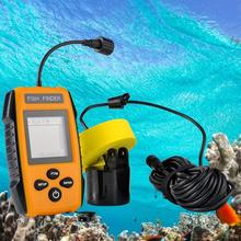 Sonic fish finder Sonar Portable LCD Color Screen Fish Finders Fishing Finder Fishing Tools