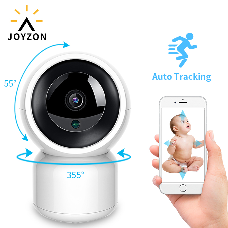 JOYZON HD 1080P Wireless Video Color Baby Monitor With Camera 2 Way Audio Talk Night Vision Surveillance Security Camera