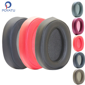 Image 1 - Poyatu 100ABN Ear Pads for SONY MDR 100ABN H900N WH H900N Headphone Replacement Ear Pad Cushion Cups Cover Earpads Repair Parts