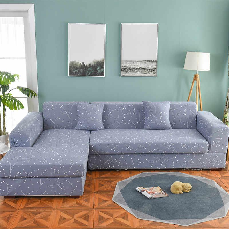 Tampa Do Sofá para Sala de estar Apertado trecho Envoltório All-inclusive Assento Cobre Sofá Cobrir Sofá Slipcovers Seccionais Elástico