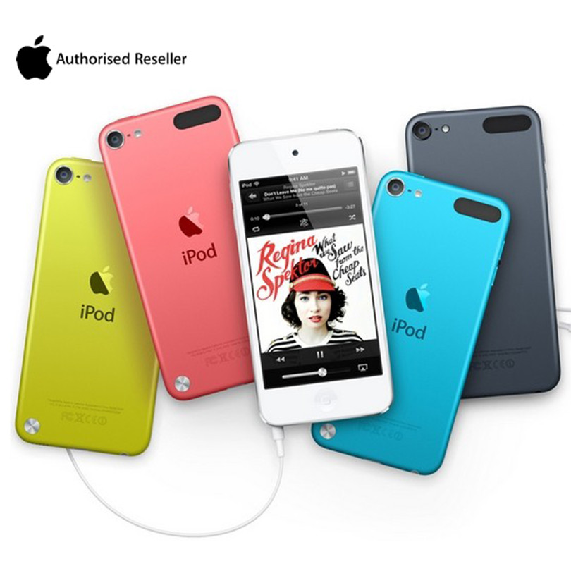 Unlocked Original Apple Ipod Touch 5 <font><b>MP3</b></font>/4 Dual Core 4.0Inches 1GB RAM 16/32GB ROM 5MP Camera Lossless Sound Used Music <font><b>Player</b></font> image