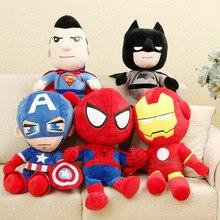 Dolls Plush-Toys Spiderman Movie Marvel Avengers Christmas-Gifts Iron-Man Soft-Stuffed