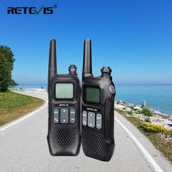Easter Day Gift Retevis RT16 2pcs Walkie Talkie PMR446 Walkie-Talkie VOX FM Radio Station USB Charging Transceiver Two Way Radio