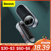 Baseus 태양 FM 송신기 변조기 자동차 무선 블루투스 5.0 어댑터 USB 고속 충전기 자동 Aux Mp3 플레이어 핸즈프리 자동차 키트