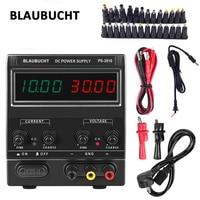 BLAUBUCHT DC Laboratory 60V 5A Regulated Lab Power Supply Adjustable 30V 10A Voltage Regulator Stabilizer Switching Bench Source