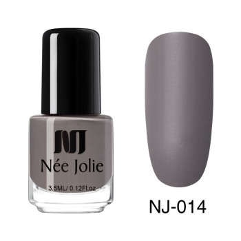 Coffee Gray Red Series Nail Art Polish Beauty & Skin Care Nail Art Color: 3.5ml Matte 14