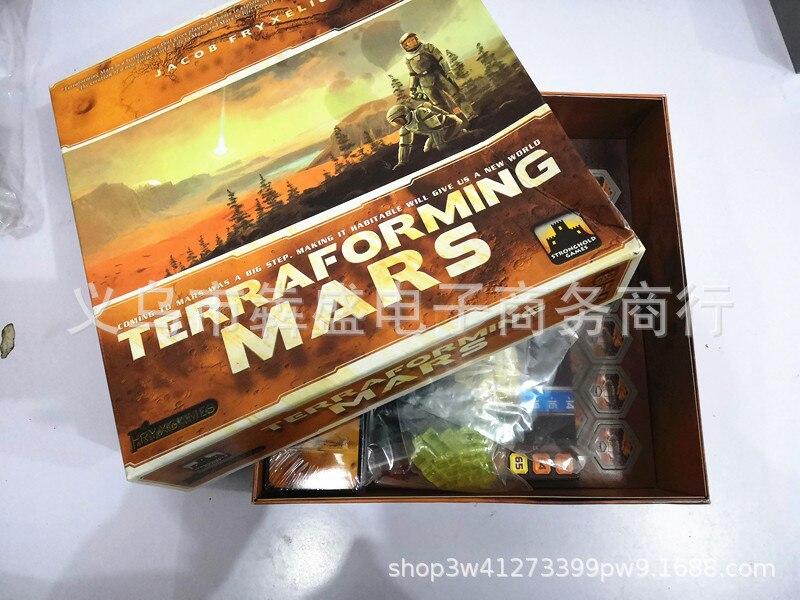 Europe And America Hot Selling Terraforming Mars Chudadi Full English Version Checkerboard Desktop Card Game