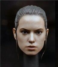ผู้หญิงหัวSculpt 1/6 Daisy Ridley ReyหัวหญิงแกะสลักหัวF 12 Action Figureตุ๊กตา