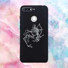 Fashion Zodiacal Pattern Soft TPU 5.7For Huawei Y6 Prime 2018 Case For Huawei Y6 Prime 2018 Phone Case Cover for huawei y6 2019 case cover for huawei y6 2019 finger ring pc tpu phone case protective hard armor case for huawei y6 2019