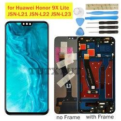 Pour Huawei Honor 9X Lite LCD Affichage JSN-L21 JSN-L22 JSN-L23 Écran Numériseur Tactile Pièces de Réparation D'affichage À CRISTAUX LIQUIDES