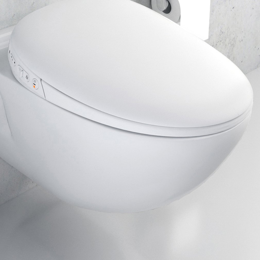Intelligent Instant Hot Wash Hip Wash Ring Heating Smart Toilet Cover For Pro Electric Clean Body 220V Smart Toilet Cover