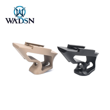 WADSN Tactical Angle Short Picatinny Hand Stop CNC Aluminum Hunting Rifle Accessories Handheld Hand Guard Block Fit 20mm Rail