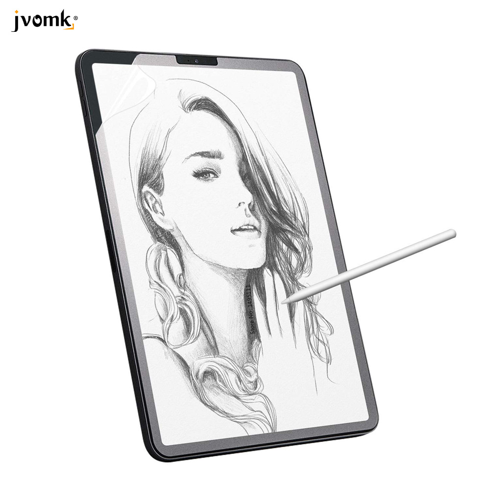 Paper Like Screen Protector Film Matte PET Anti Glare Painting For IPad 9.7 New 10.2 Air Pro 10.5 Face ID 11 12.9 Inch 2018 2019