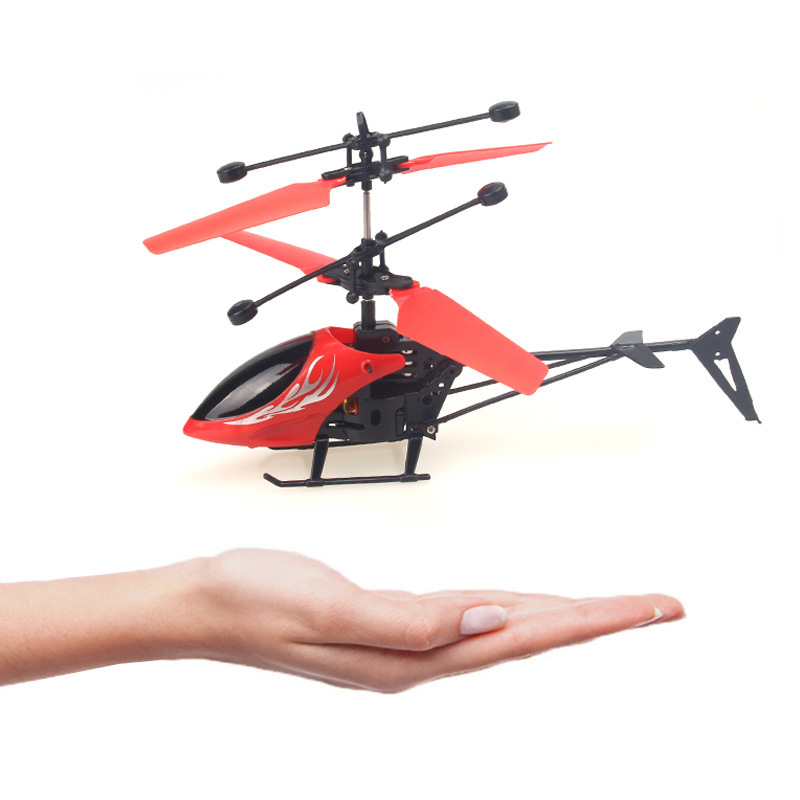 Cross Border Toy Suspension Helicopter Aircraft Mini Sensing Children Remote Control Aircraft Suspended UFO Toy