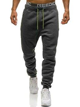 ZOGAA męska odzież sportowa pełne elastyczne spodnie dorywczo dla mężczyzn Fitness obcisłe spodnie spodnie dresowe spodnie do biegania tanie i dobre opinie Plisowana Poliester Ruched REGULAR Pełnej długości Na co dzień Midweight Sztruks Sznurek CK56