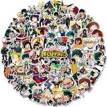 10/50/100pcs My Hero Academia Suitcase Stickers Laptop Skateboard Izuku Midoriya Might Boku No Hero Academia Anime Stickers