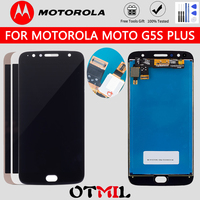 Pantalla LCD Original para móvil, montaje de digitalizador con pantalla táctil de 5,5 pulgadas para Motorola Moto G5S Plus, XT1802 XT1803 XT1805 XT1086