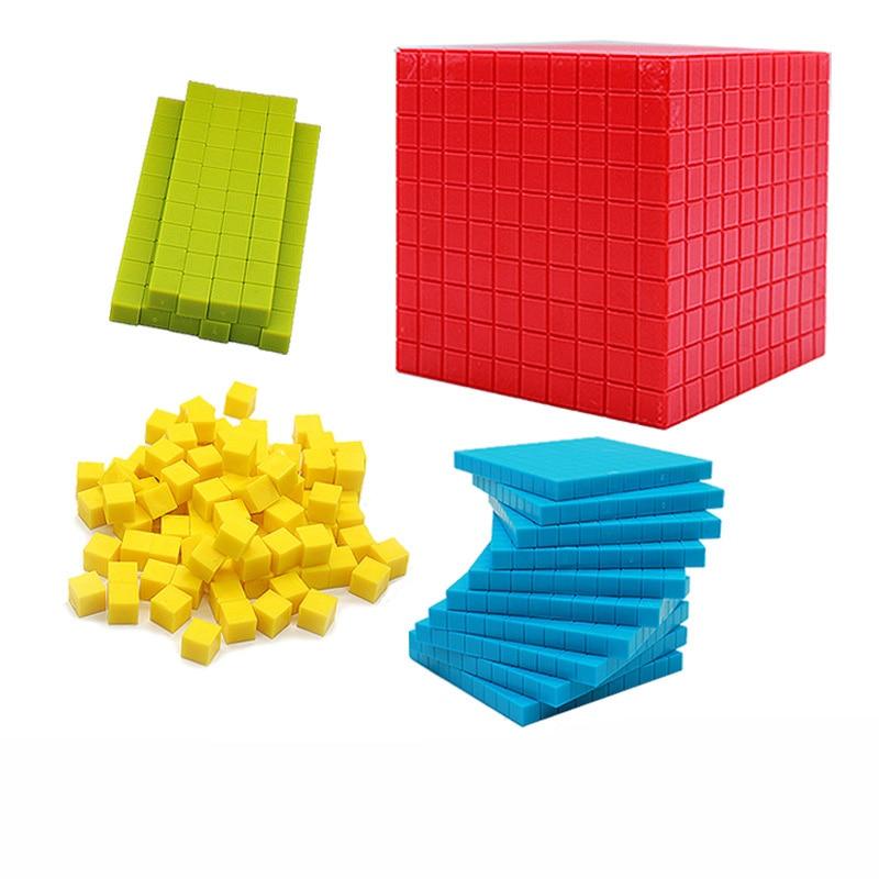 Montessori Mathematics Teaching Aids Decimal Group Puzzle Toys Children's Preschool Education Toys