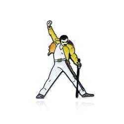 Новое поступление 2020, эмалированные булавки и броши Queen Freddie Mercury для женщин и мужчин, булавка для лацкана, рюкзака, сумки, шляпы, значок, подар...