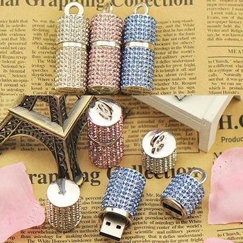 High Speed Usb Flash Drive 1TB 2TB Jewelry Pendrive 3.0 Cristal Necklace 16GB 32GB Usb Stick Exquisite Girl Gift Pen Drive 64GB