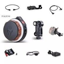 Tilta núcleo nano sem fio seguir foco acessório motor roda de mão cabo de alimentação 15mm adaptador para dji ronin s 18650 bateria